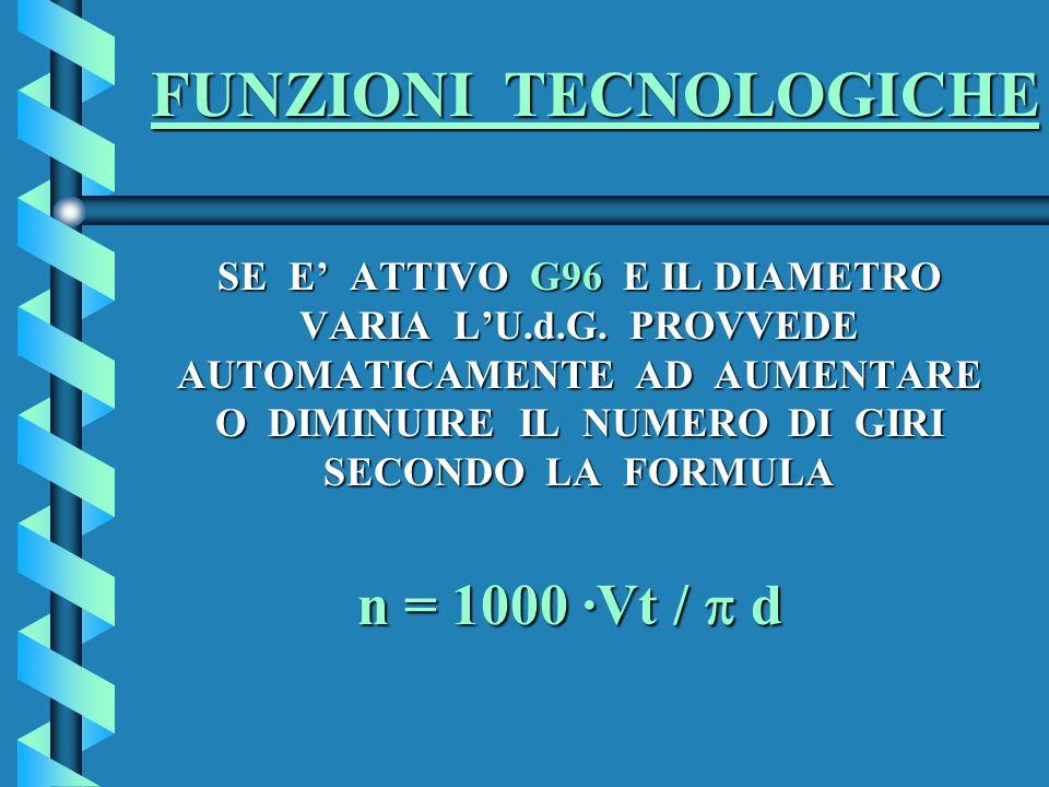 FUNZIONI TECNOLOGICHE