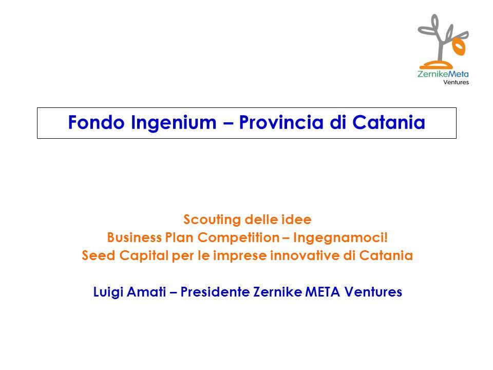 Fondo Ingenium – Provincia di Catania
