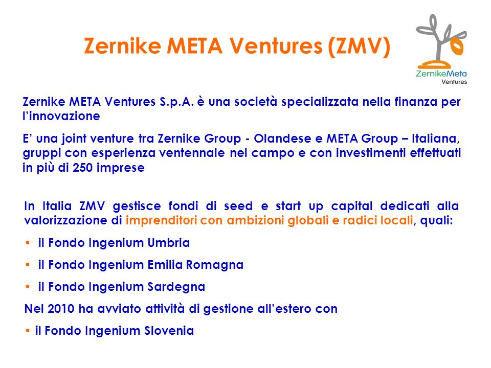 Zernike META Ventures (ZMV)