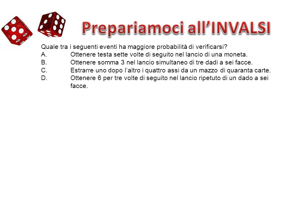 Prepariamoci all'INVALSI