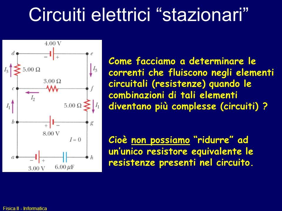 Circuiti elettrici stazionari