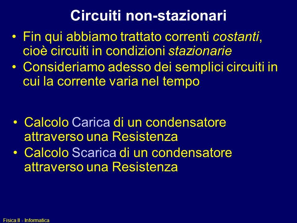 Circuiti non-stazionari