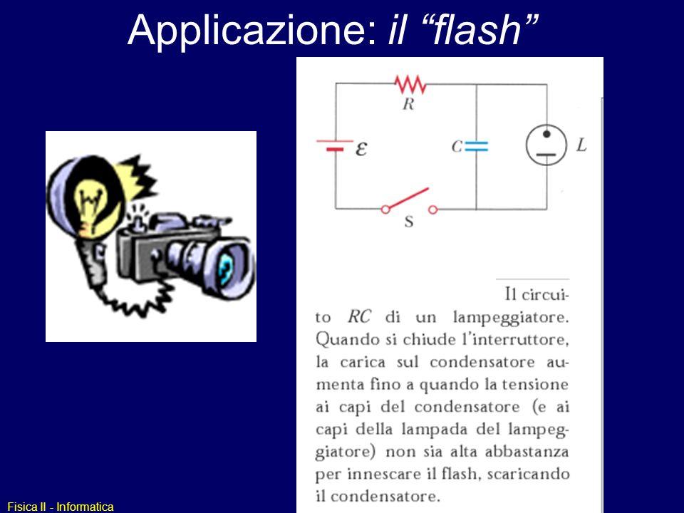 Applicazione: il flash