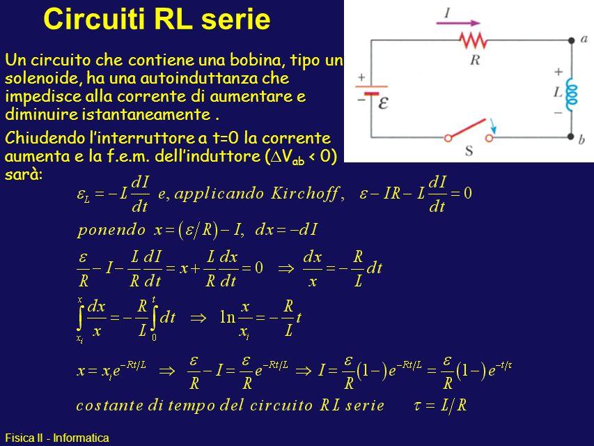 Circuiti RL serie