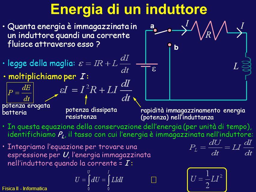 Energia di un induttore
