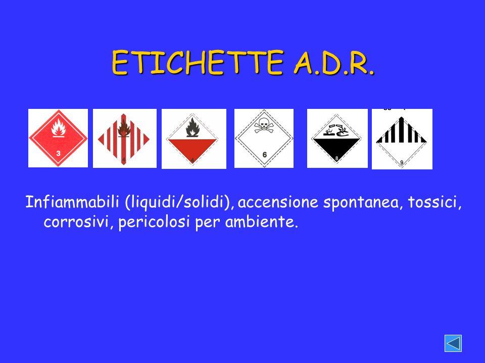 ETICHETTE A.D.R.