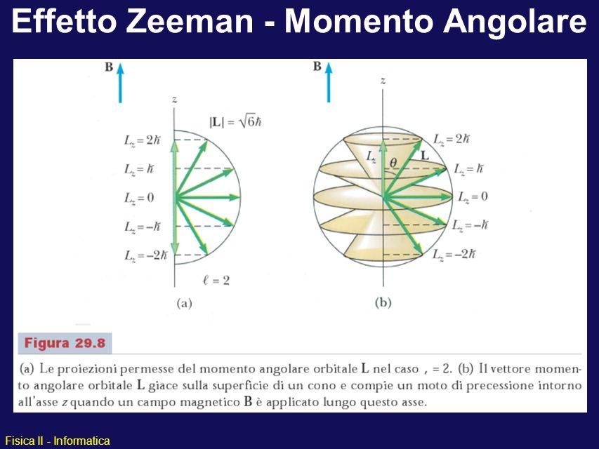 Effetto Zeeman - Momento Angolare