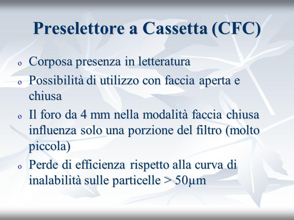 Preselettore a Cassetta (CFC)