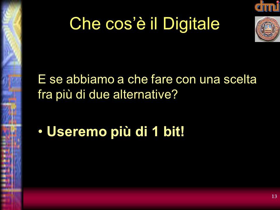 Che cos'è il Digitale Useremo più di 1 bit!