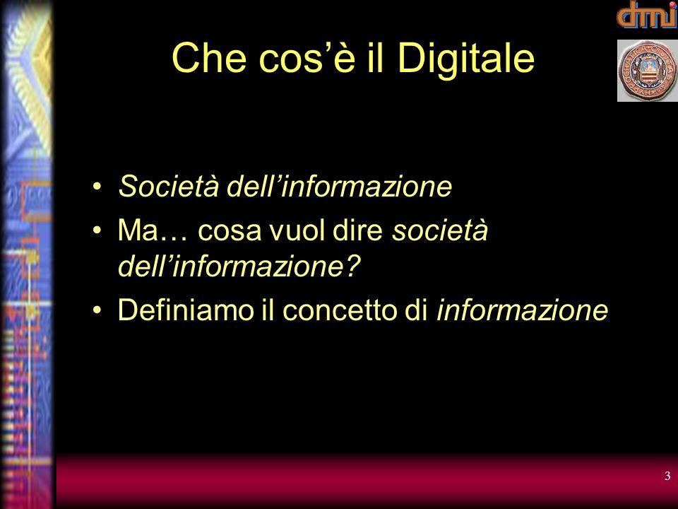 Che cos'è il Digitale Società dell'informazione