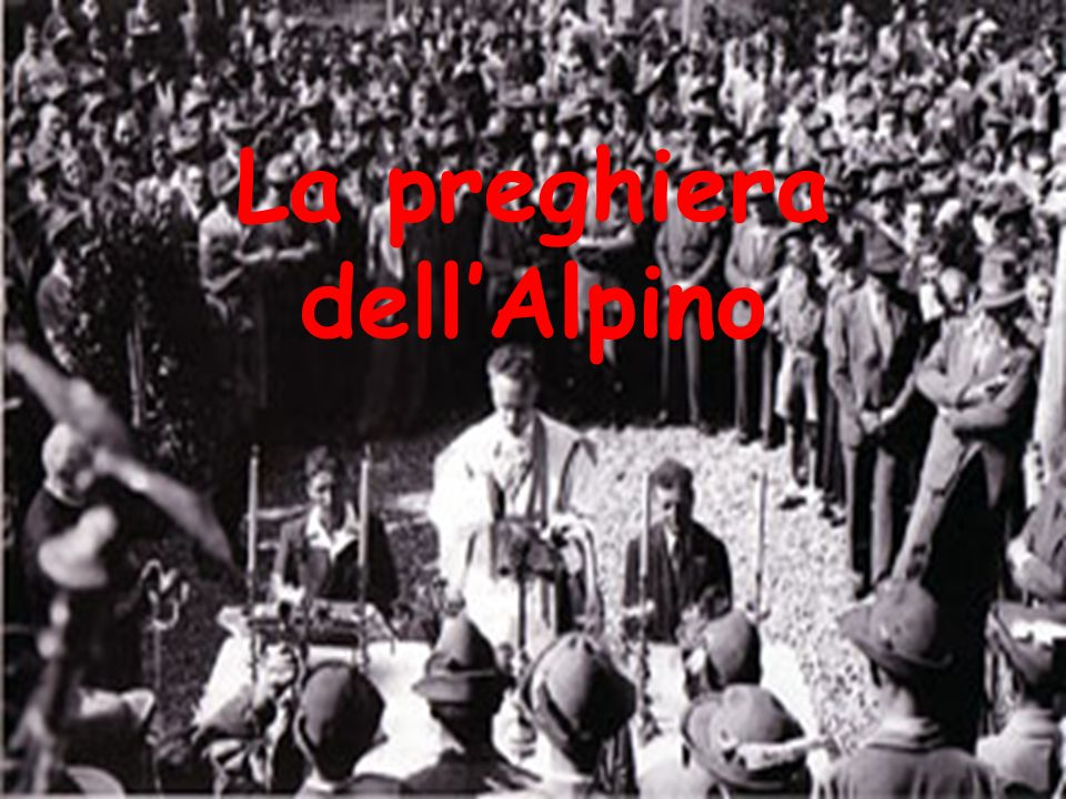 La preghiera dell'Alpino