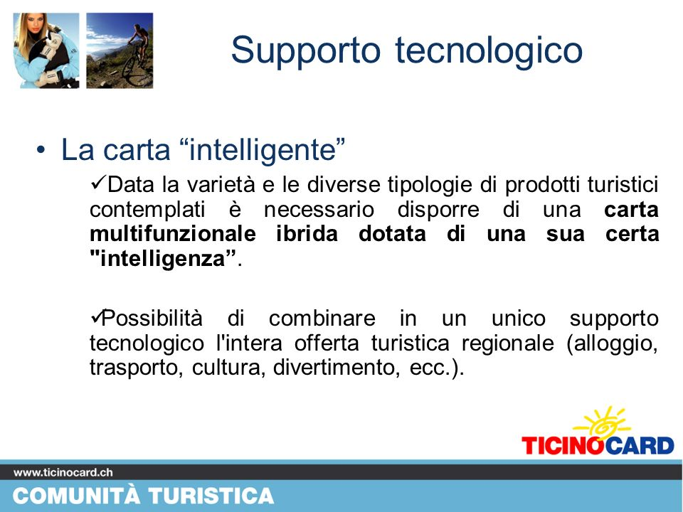 Supporto tecnologico La carta intelligente