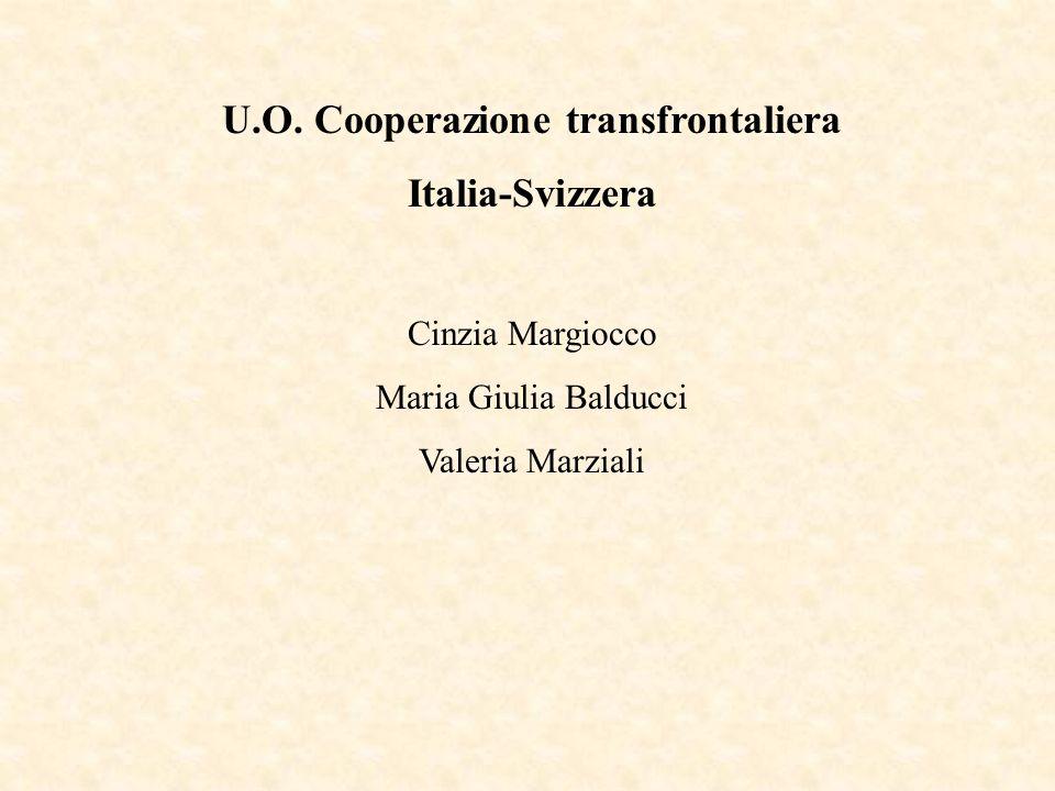 U.O. Cooperazione transfrontaliera