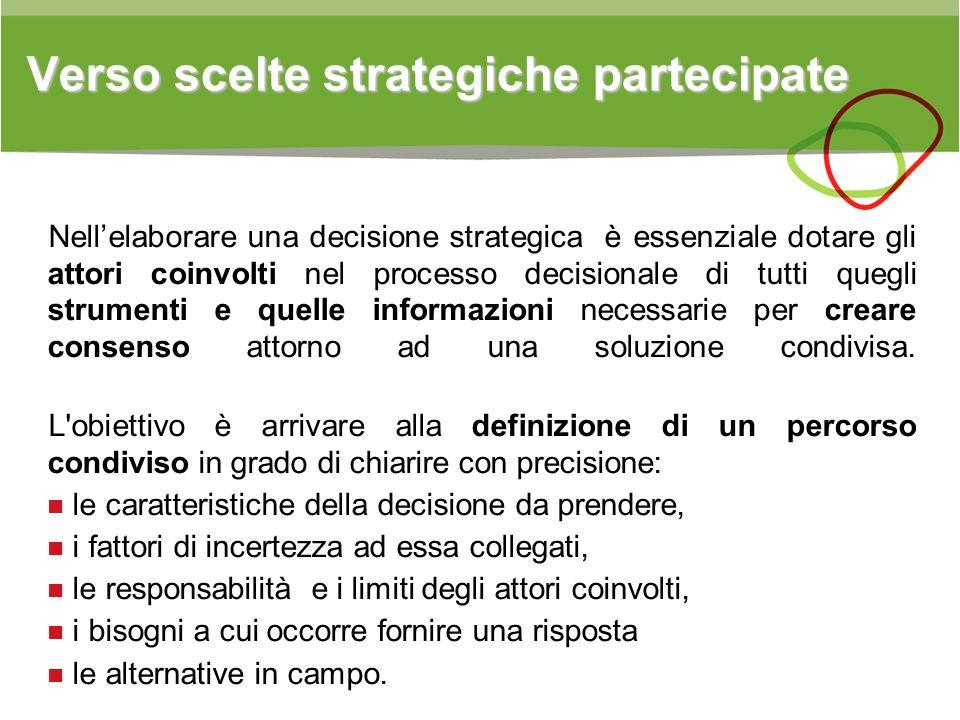 Verso scelte strategiche partecipate
