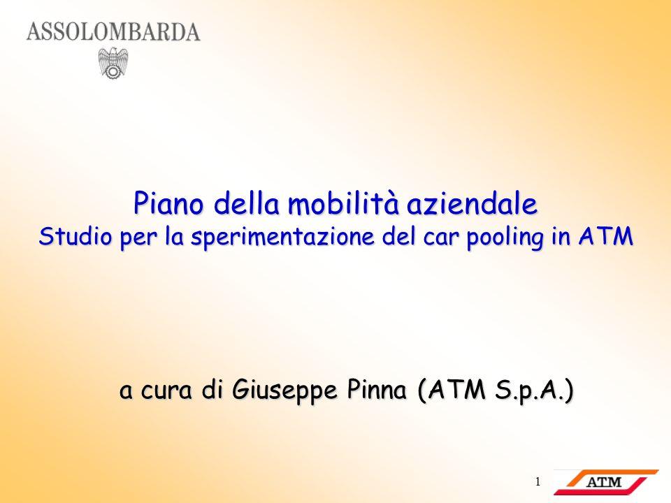 a cura di Giuseppe Pinna (ATM S.p.A.)
