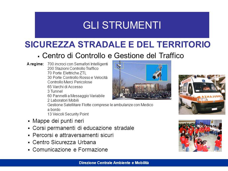 Direzione Centrale Ambiente e Mobilità
