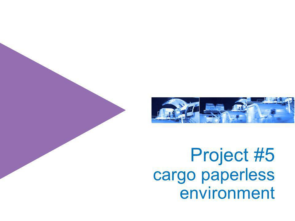 Project #5 cargo paperless environment