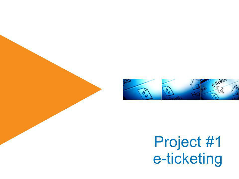 Project #1 e-ticketing