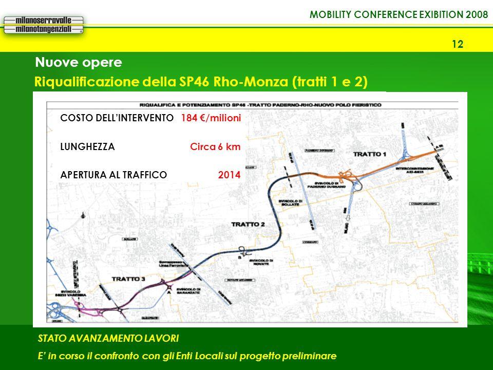 Riqualificazione della SP46 Rho-Monza (tratti 1 e 2)