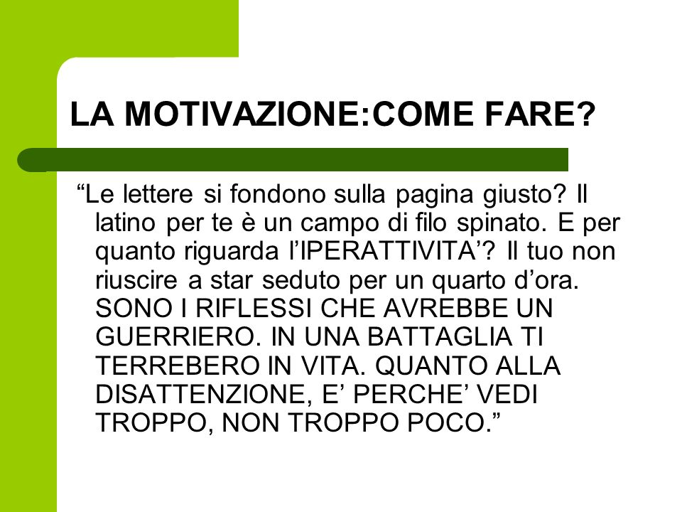 Associazione italiana dislessia sezione di firenze ppt - Come fare un porta lettere ...