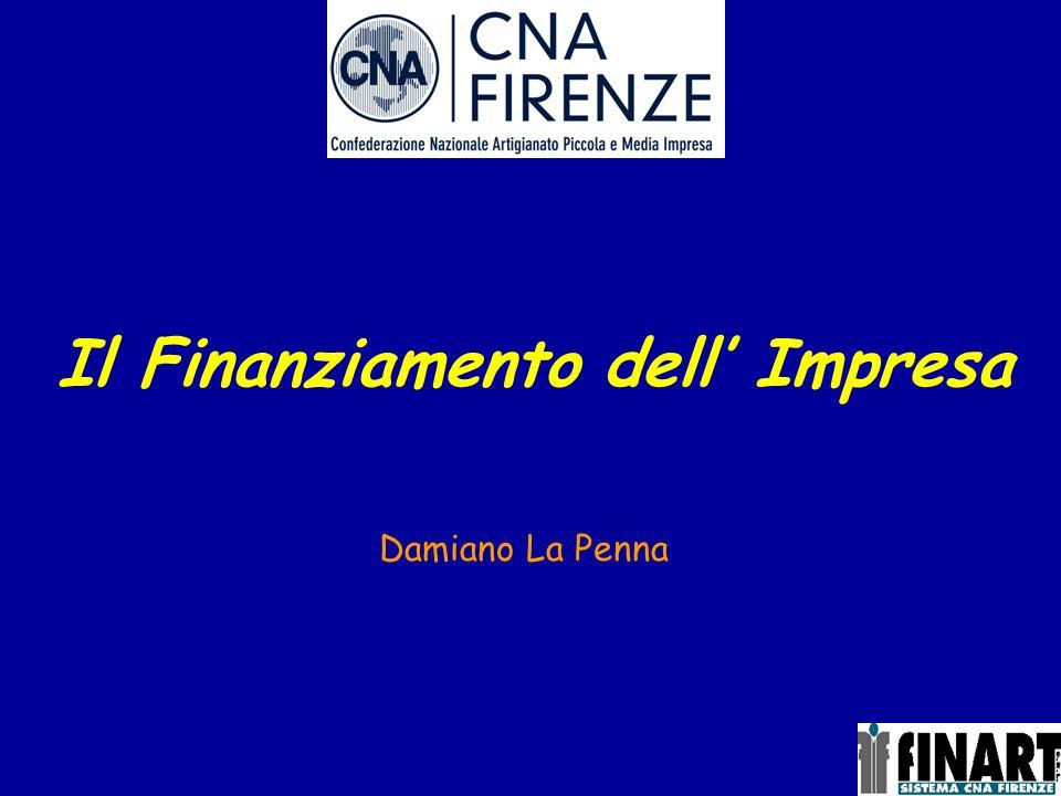 Il Finanziamento dell' Impresa