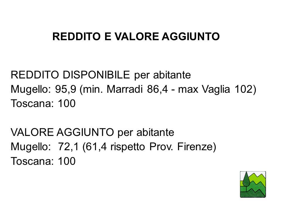 REDDITO E VALORE AGGIUNTO