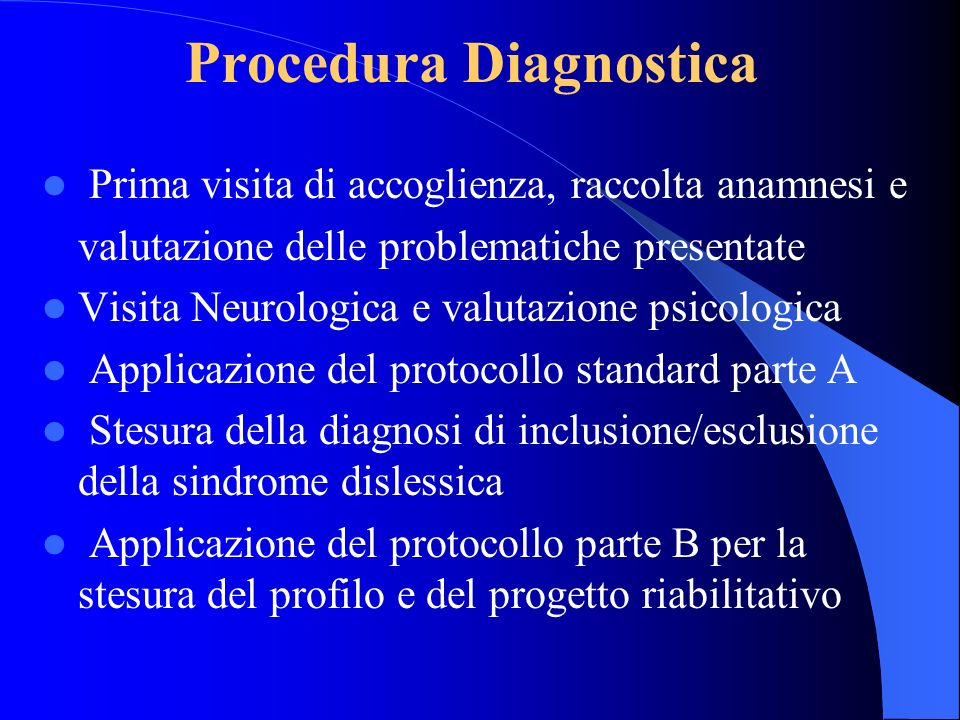 Procedura Diagnostica