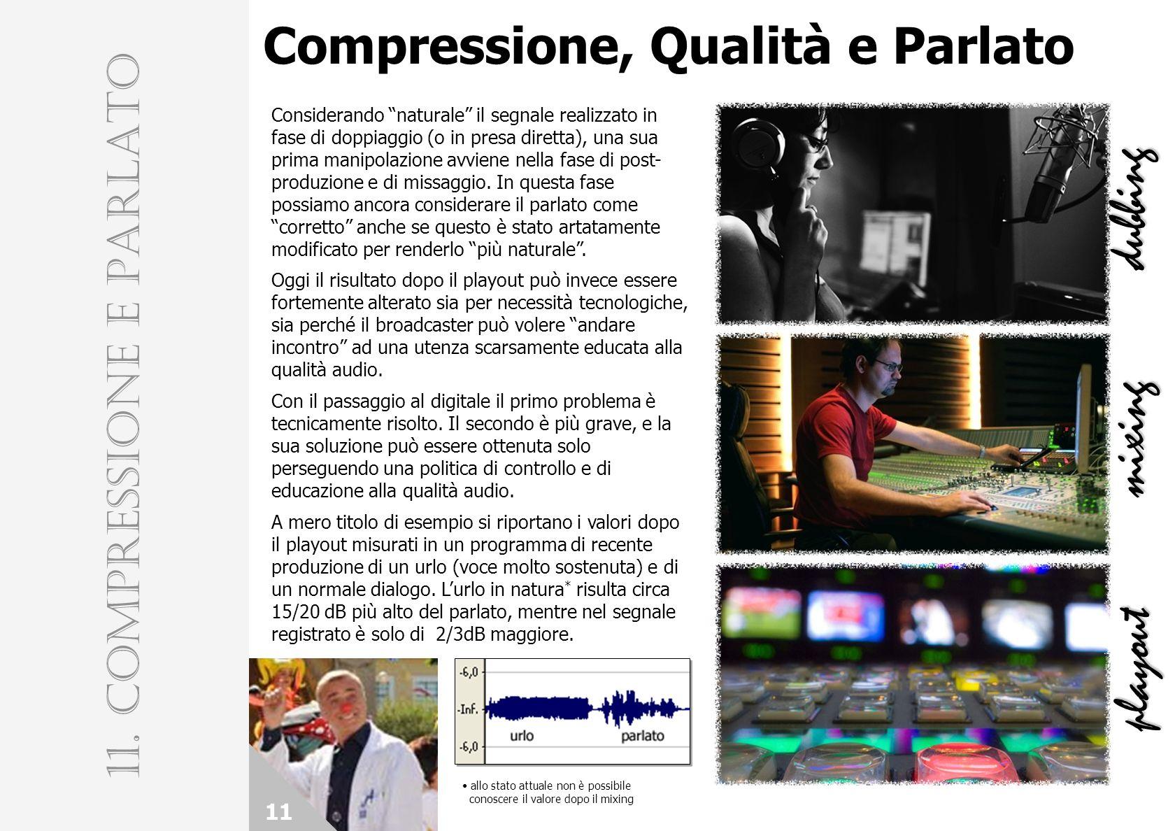 11. COMPRESSIONE E PARLATO
