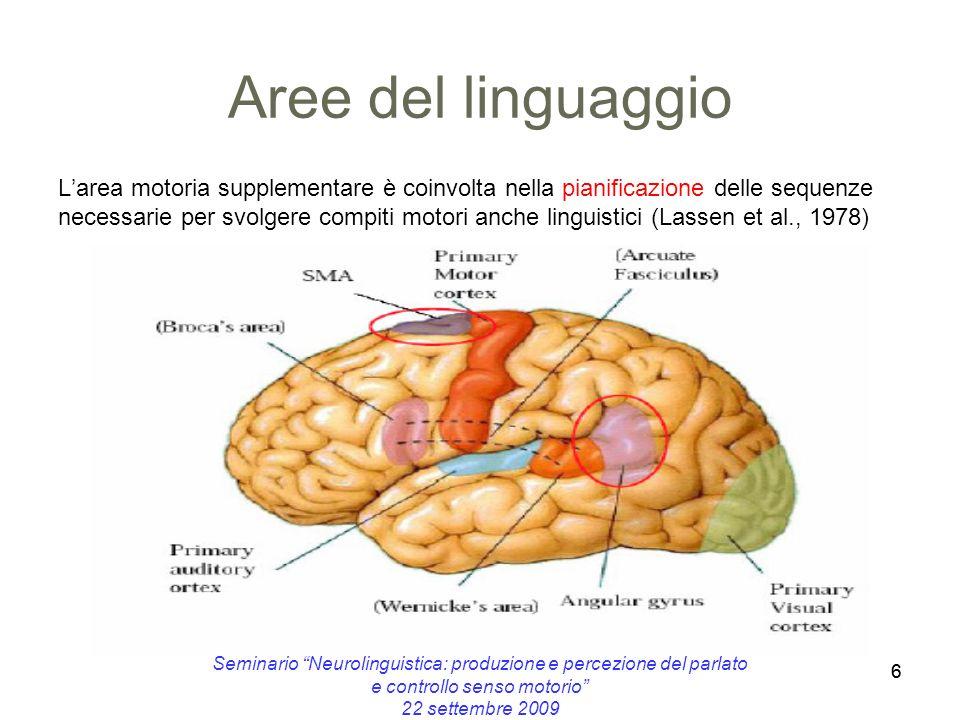 Aree del linguaggio