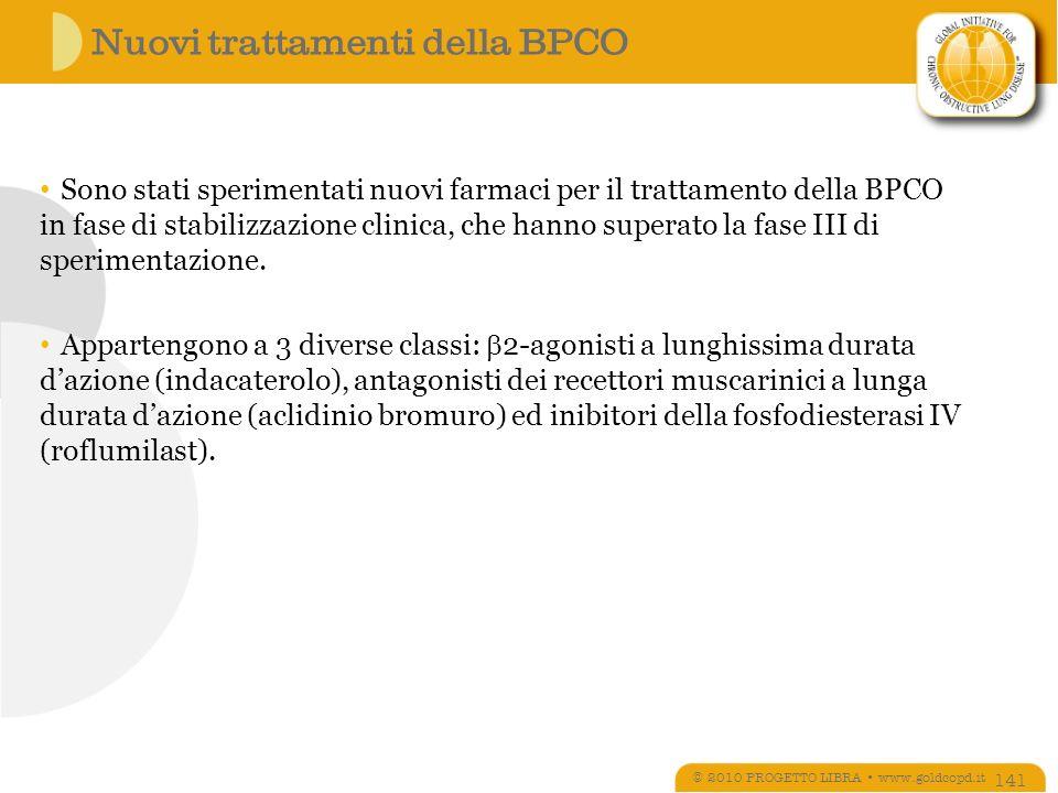 Nuovi trattamenti della BPCO