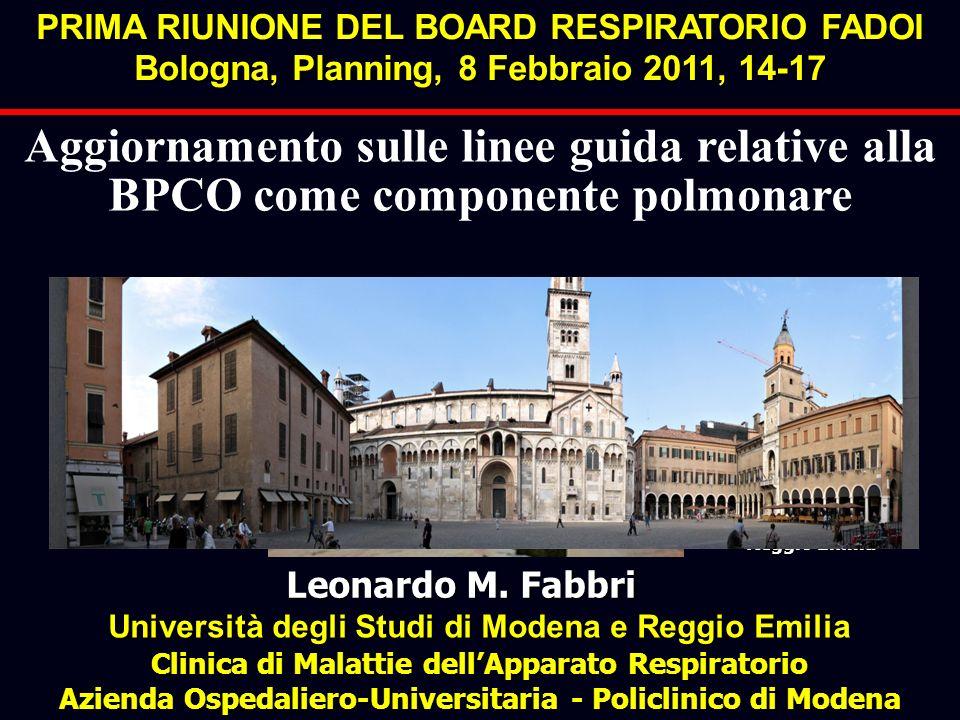 PRIMA RIUNIONE DEL BOARD RESPIRATORIO FADOI