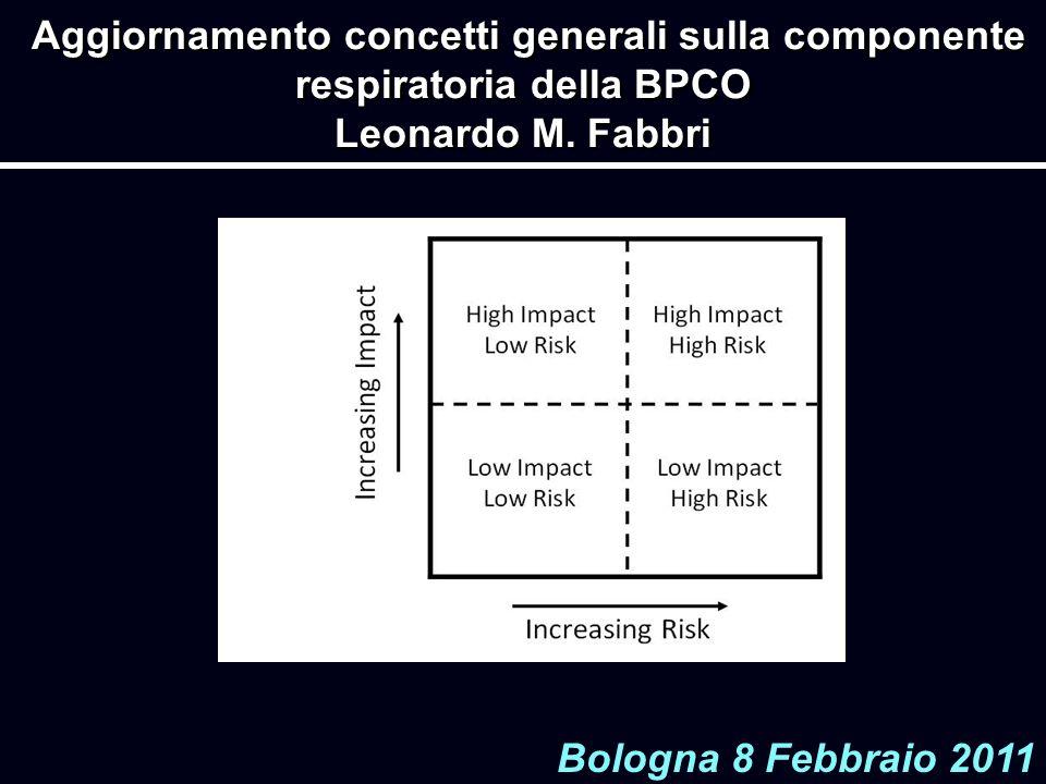 Aggiornamento concetti generali sulla componente respiratoria della BPCO Leonardo M. Fabbri