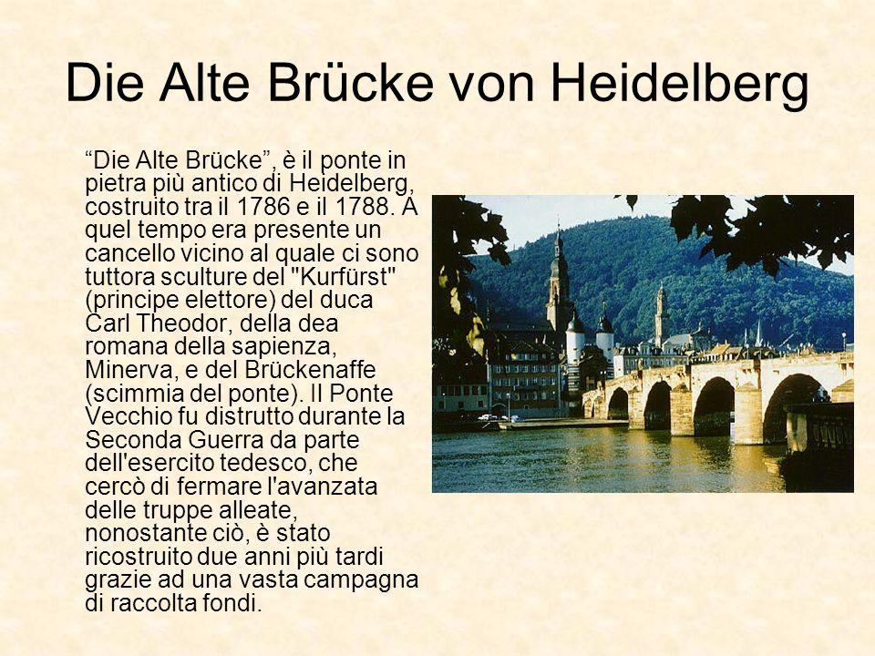 Die Alte Brücke von Heidelberg
