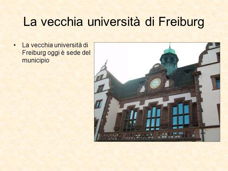 La vecchia università di Freiburg