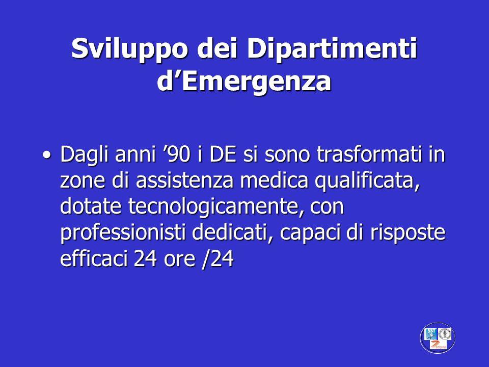 Sviluppo dei Dipartimenti d'Emergenza