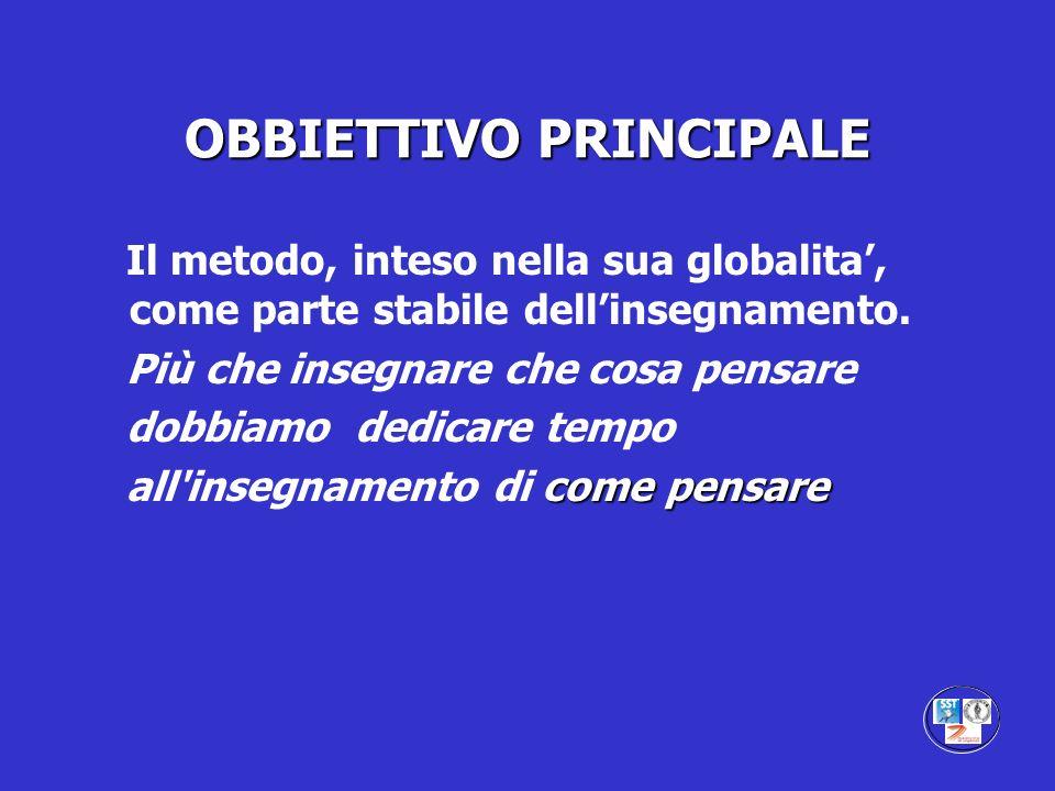 OBBIETTIVO PRINCIPALE