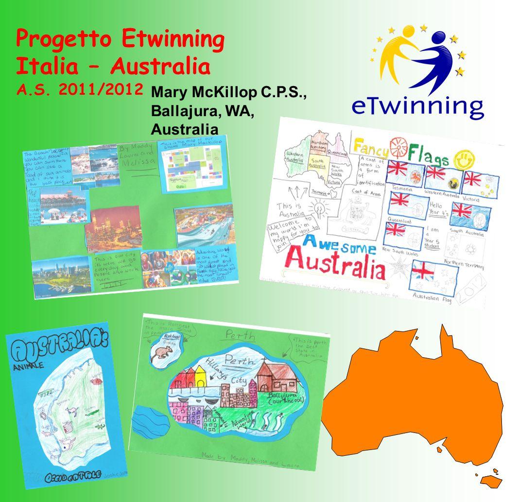 Progetto Etwinning Italia – Australia A.S. 2011/2012