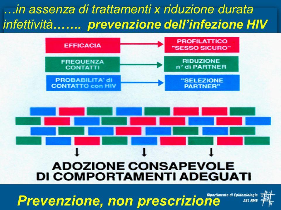 Prevenzione, non prescrizione