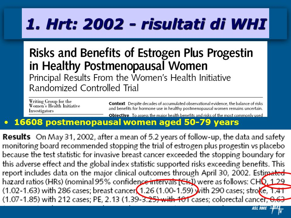 16608 postmenopausal women aged 50-79 years
