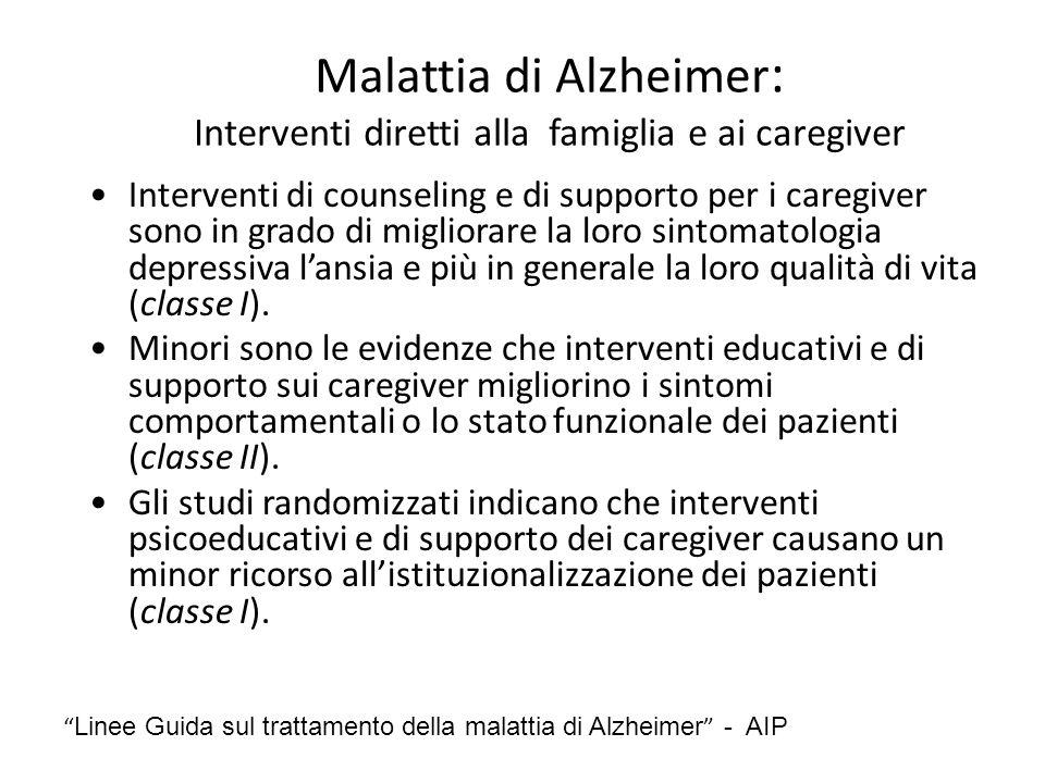 Malattia di Alzheimer: