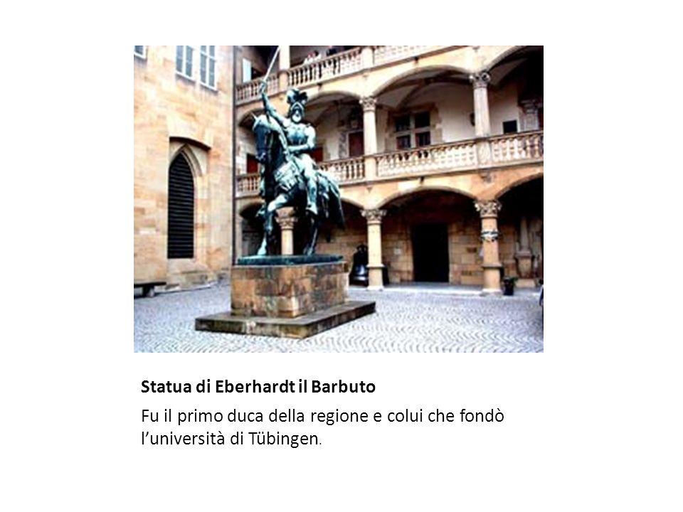 Statua di Eberhardt il Barbuto