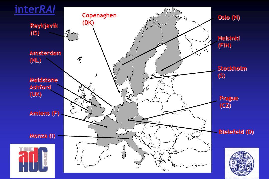 interRAI Copenaghen (DK) Oslo (N) Reykjavik (IS) Helsinki (FIN)