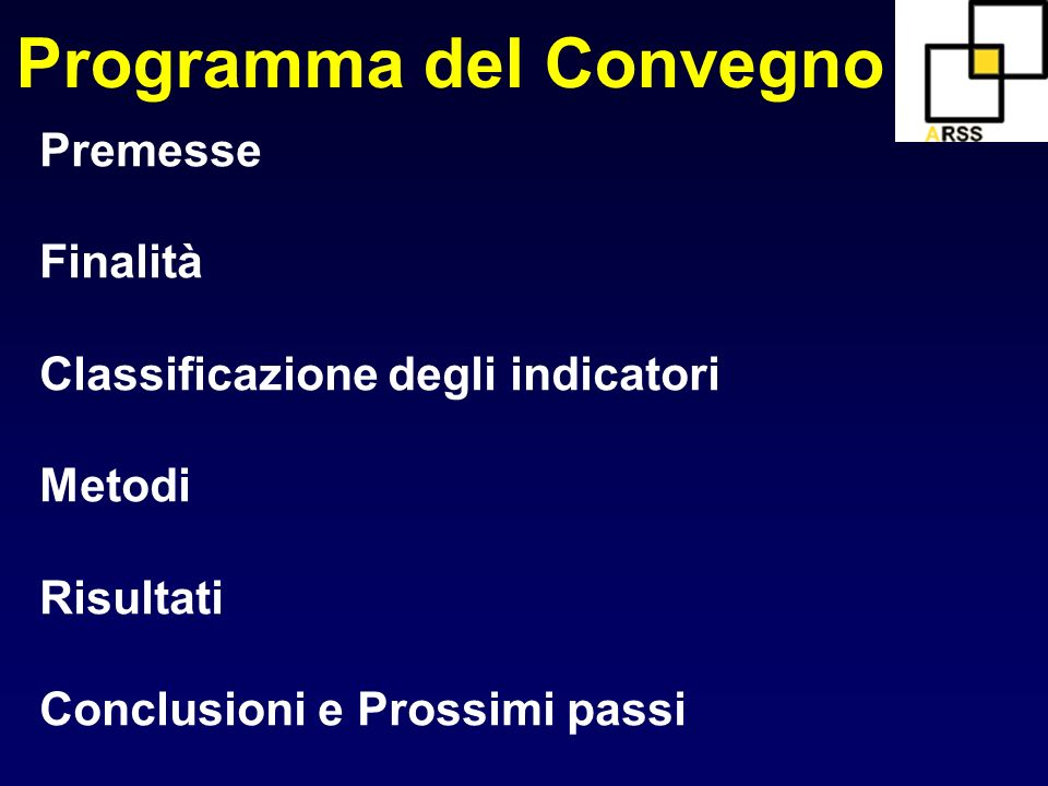 Programma del Convegno