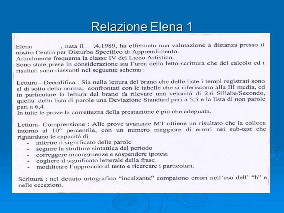Relazione Elena 1