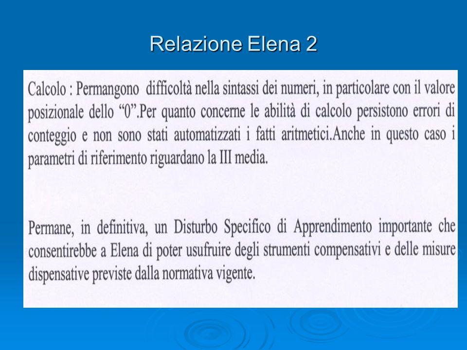 Relazione Elena 2