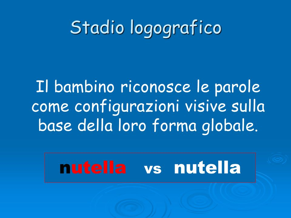 Stadio logografico nutella vs nutella