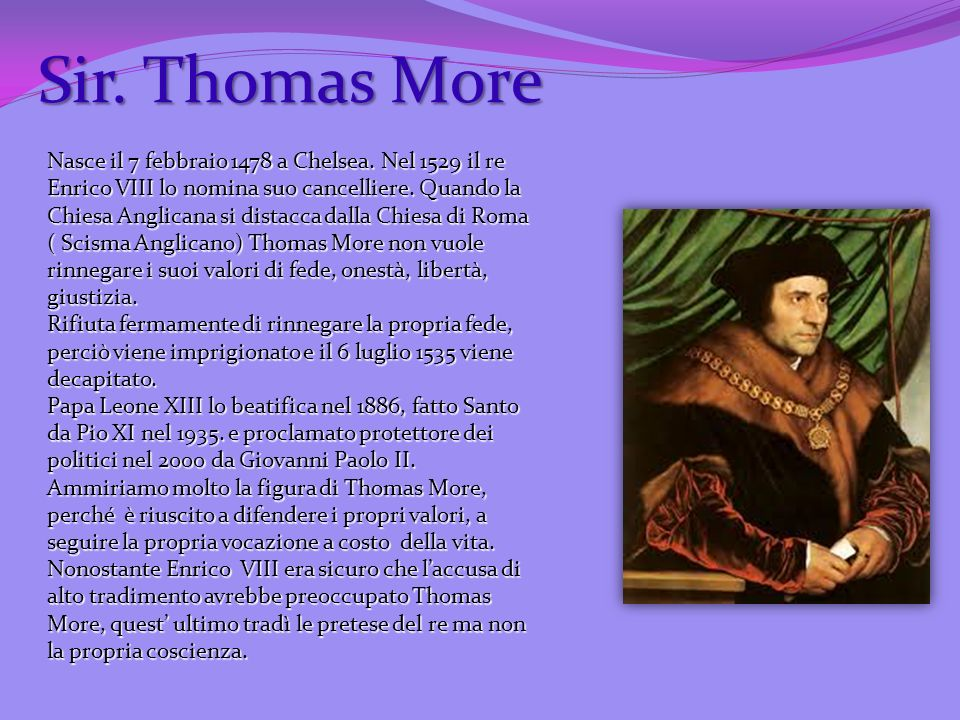 Sir. Thomas More