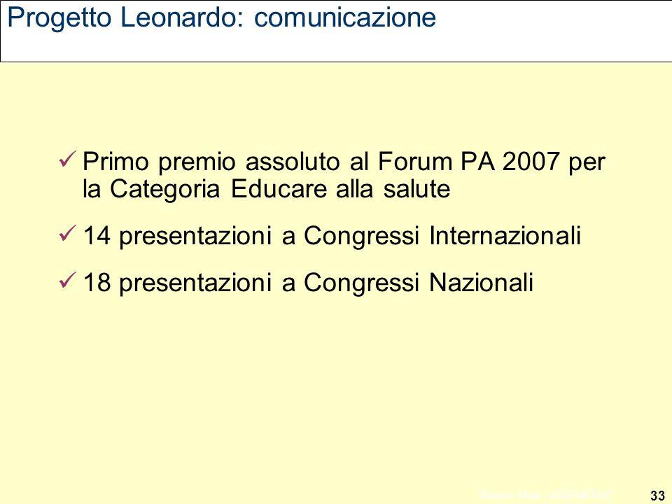 Progetto Leonardo: comunicazione
