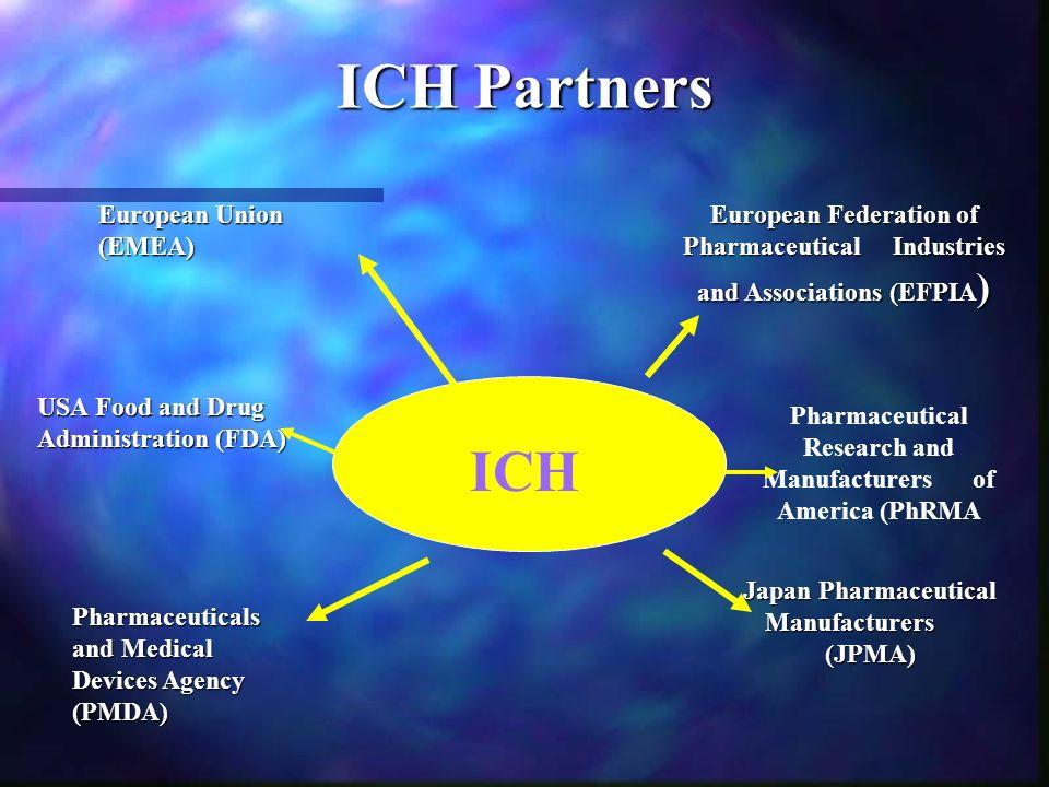 ICH Partners ICH European Union (EMEA)