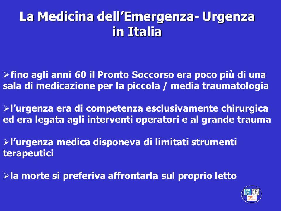 La Medicina dell'Emergenza- Urgenza